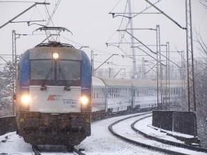 長距離列車の例。ドイツ・ベルリンとワルシャワを結ぶ「ベルリンワルシャワエクスプレス」。
