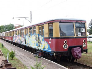 ベルリンSバーンの477型 / Stored BR477 of S-Bahn Berlin.