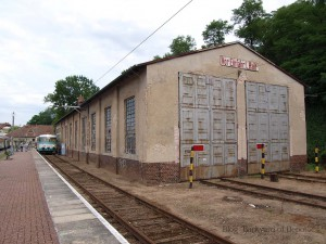 ブッコーの小さな検修庫 / Small depot at Buckow.