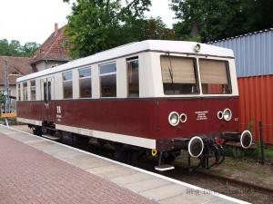 ブッコー駅構内で暇をもてあます279型 / A BR279 at Buckow.