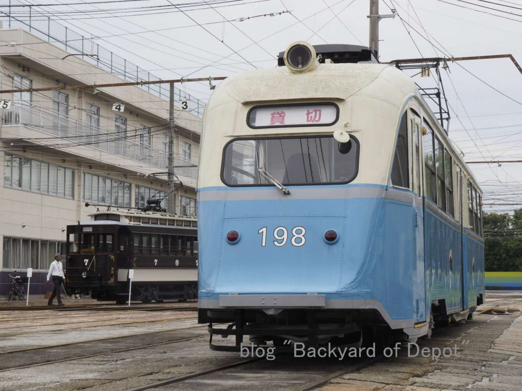 オスロ市電と維新号 / Ex-Oslo tram and Kōchi's original tram.